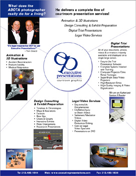 Trial Graphics Company Services Brochure