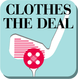 "Logo: Charity Golf Event for ""Clothes the Deal"""