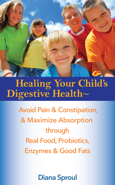 Image of book cover with kids smilingn faces on the front.