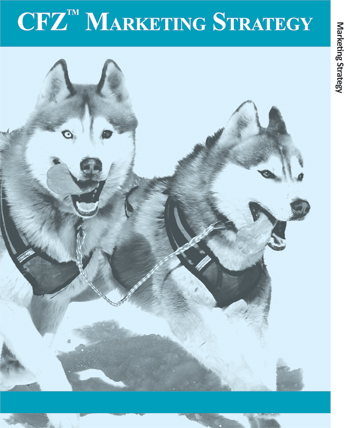 Two husky dogs run with tongues out, in harness, close up. Blue tint.