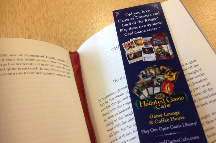 How to brand a new business, Bookmark created as part of new business marketing design and branding, in Fort Collins, Colorado